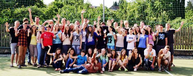 TESTIFY, letní akce pro mladé ve Zlobicích 8.-14.7.2013