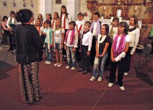 Letní koncert Chlumčanského dětského sboru 2009
